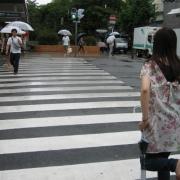 09,左折して横断歩道を渡ってしまうよ~(木屋町通りに入りマス。)