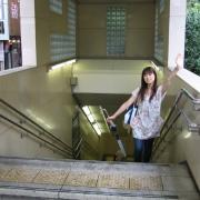 10,(阪急河原町出口1木屋町北出入り口)地上だぁー