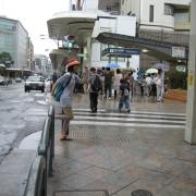 07木屋町通りの小さな横断歩道が出てくるよ