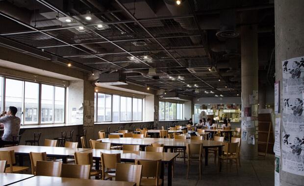 食堂2F休憩スペース